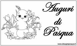 Disegni Pasqua Tanti Bellissimi Disegni Pasqua Da Stampare E Colorare